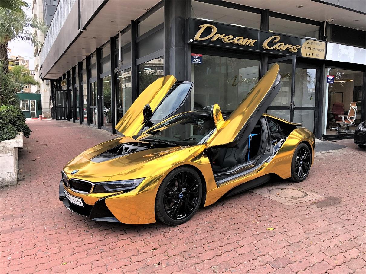 צעיר BMW i8 24 Gold Edition!!!!!!!! – דרים קארס – יבוא אישי רכבים ורכבי NW-36