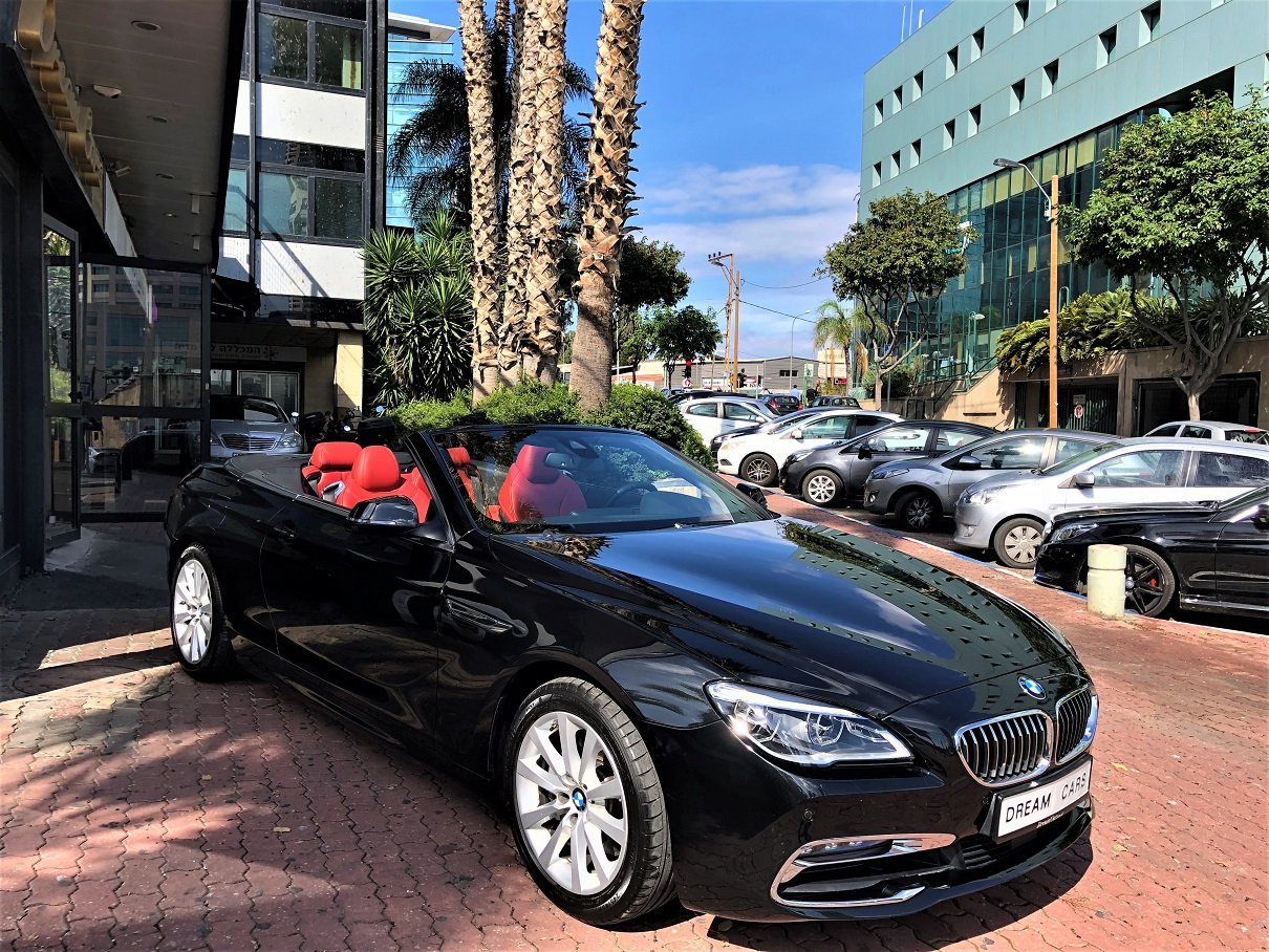 מגניב BMW 640i M Convertible – דרים קארס – יבוא אישי רכבים ורכבי יוקרה LU-11